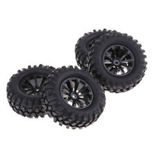 "4 Pieces RC Rock Crawler 1/10 Scale Crawler 96mm Tires Tyres & 1.9"" Wheels"