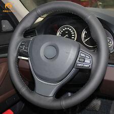 Black Leather Wheel Cover Wrap for BMW F10 520i 528i 730Li 750Li 740Li #ZW17