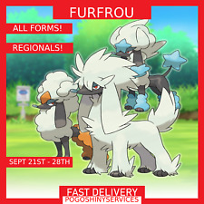 Pokemon Go - Furfrou Catches - PTC Option - All forms available!