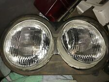 1989 Yamaha FZR1000 FZR 1000 front dual headlamp assembly; good shape!