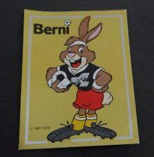 Sammelbild PANINI EURO´88 Fußball-EM 1988 Berni Sticker Nr.: 2