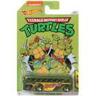 Hot Wheels Teenage Mutant Ninja Turtles Die-Cast Cars Nickelodeon 1:64 New