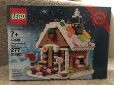 NEW Lego Exclusive Gingerbread House 40139 , SEALED!