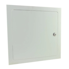 Metal Wall Ceiling Access Panel 16 In X 16 In Hinged Cover With Lock And Key