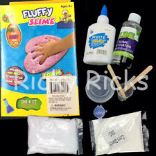 DIY Fluffy Slime Kit Toy Gift Stress Relief Floam 3D Butter Mud Craft Children