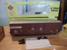 Aristocraft Norfolk Southern 53' LN Boxcar Kadee Metal Wheels 460379 Modern CAPS