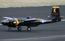 """A-26 invasor 61""""WS gigante a Escala Rc Avión Tamaño Completo Impreso Planos y Plantillas"""