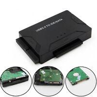 """USB3.0 zu IDE&SATA Konverter Externe Festplatte Adapter 2,5"""" 3,5 """" Kabel Set DE"""