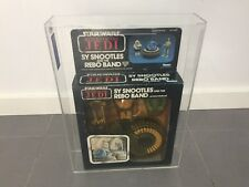 VINTAGE STAR WARS ROTJ 1983 GRADED SY SNOOTLES & REBO BAND NEW SEALED AFA UKG