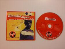 BLONDIE ATOMIC musique pub Coca Cola single