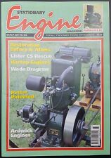 The Stationary Engine Magazine March 2001, No 324, Free UK Post