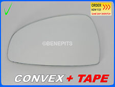 Wing Mirror Glass Audi TT 2006-2014 CONVEX + TAPE Left Side #330
