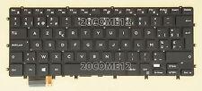NEW FOR DELL XPS 15 9550 9560 Keyboard Backlit Belgian Clavier Belge No Frame