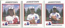 1987 Pro Cards Jamestown Expos 30-card Minor League Team Set  John Vanderwal