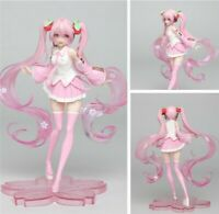 USED VOCALOID Hatsune Miku Sakura Pink Cherry Blossom Dress Figure Toy BULK
