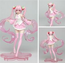 Vocaloid Hatsune Miku Sakura Pink Cherry Blossom Dress Action Figure Used Bulk