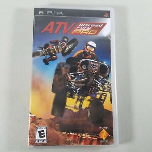 ATV Off Road Fury PSP Video Game Rated Everyone With Manual 2006