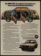 1976 BMW 530i Sedan - The Ultimate Driving Machine - VINTAGE AD