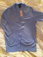 Ann Taylor Women Long Sleeve Blue Sweater Size: SP New With Tag
