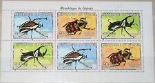 GUINEA 1999 Klb 2465-67 Insects Insekten Goliathkäfer Goliath Beetle Fauna MNH