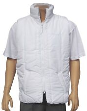 CATHEDRAL Microfibre Bodywarmer Soft Quilted Bowls White XXXXL 2 Pocket Marked W