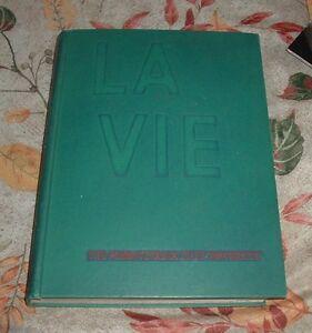 1957 LA VIE Pennsylvania State University Yearbook Sam Valentine Coach Rip Engle