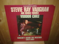 "STEVIE RAY VAUGHAN AND DOUBLE TROUBLE voodoo chile 12""  MAXI 45T"