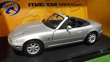MAZDA MX-5 MIATA LH drive Cabriolet Gris 1/18 GATE 01015 voiture miniature