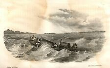 "Henderon's ""VALEY OF THE AMAZON"" Tinted Litho -1854- MADEIRA RIVER, BRAZIL"