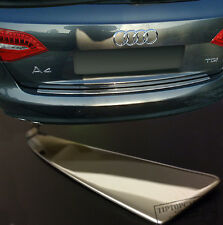 Premium Edelstahl Kofferraum Ladekantenschutz Poliert für Audi A4  ab 2009 Auto