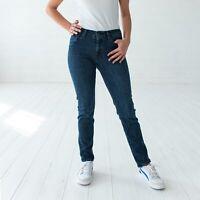 Levi's Mid Rise Skinny Damen blau Jeans DE 40 W33 L32