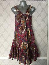 Per Una Paisley Dress Size 14