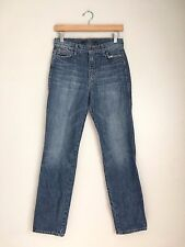 JOE'S JEANS Vintage High Rise Slouched Slim Distressed Jeans Blue 26 $189 #192