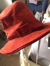 Vintage Burnt Orange Ladirs Hat