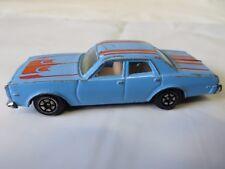 "Yatming Dodge Monaco Error Car ""Dorge"" Blue #1031 Thailand  #6234"