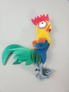 "Disney Moana HeiHei Plush Stuffed Animal Chicken Rooster 11"""