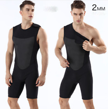 New men 2mm neoprene diving suits free dive scuba snorkeling jump short wetsuits
