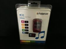 NEW SEALED PMP180-40 Retro Vintage MP3 Polaroid Red 4GB Music & Video Player