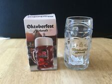 Rickards 20 oz  Oktoberfest Glass Beer Stein