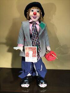 "Vtg Porcelain Dynasty Doll Collection 1983 New In Box ""Liza"" Female Hobo 18"""