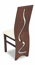 Luxury Design Pads Chair Seat Lehn Office Dining Room Wood K3 Solid