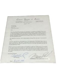 """Paul Hornung, NFL Packers, Card Show Signed Contract, PSA Grade 8,""""Super Rare"""""""
