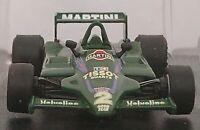 1/43 MARTINI LOTUS 79 1979 F1 FORMULA 1 COCHE DE METAL A ESCALA DIECAST