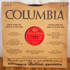 Harry James The Man avec le CORNE / jalousie 78 Columbia Deadstock M