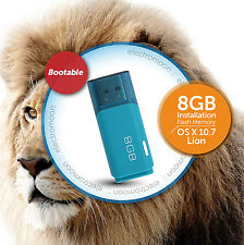 OS X Lion 10.7 :: 8GB Bootable USB Drive :: Fresh Install / Recovery