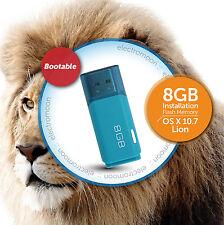 Os X Lion 10.7:: 8GB unidad USB de arranque:: instalación nueva/recuperación