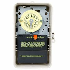 Intermatic T104P3 240V Volt DPST 24 Hour Mechanical Outdoor Timer w/Box