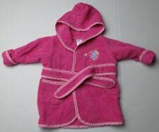 Infant Baby Girls 0-9 months Spasilk Pink Fish Bath Robe