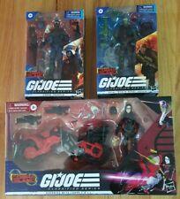 GI Joe Classified - BeachHead, Cobra Trooper and Baroness w Coil Bike