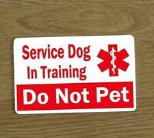 Service Dog in Training Card, Assistance Dog Card, Dog Training Awareness Card